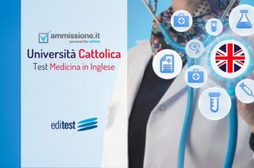 Test Medicina Inglese Cattolica 2020: gli ultimi aggiornamenti
