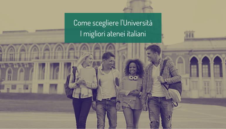 come scegliere università