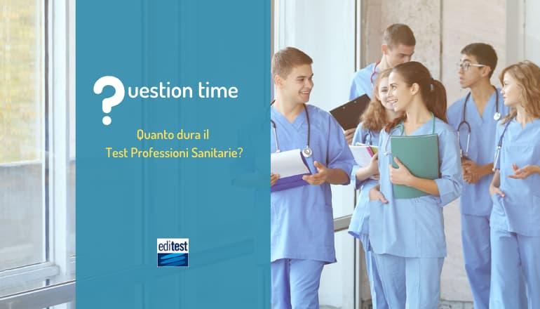 durata test professioni sanitarie