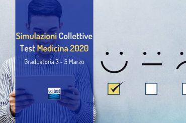 Graduatoria prima simulazione collettiva Test Medicina 2020