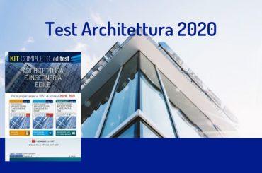 Test Architettura 2020: disponibile il nuovo Kit EdiTEST