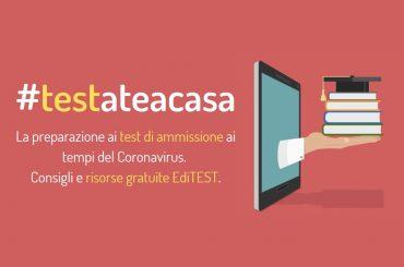 #testateacasa: la preparazione ai test ai tempi del Coronavirus