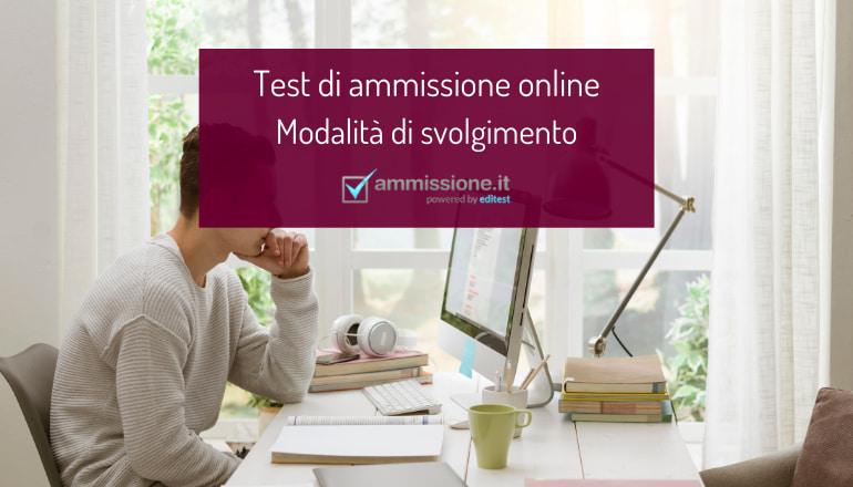 test ammissione online