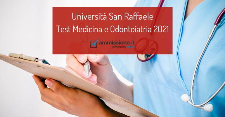 Test Medicina e Odontoiatria San Raffaele: pubblicato il decreto 2021