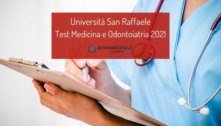 test medicina san raffaele 2021
