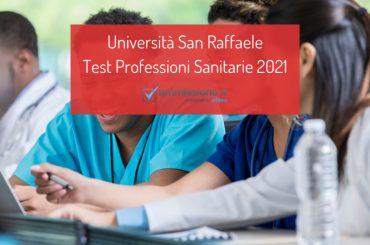 Test Professioni Sanitarie San Raffaele 2021: decreto ufficiale
