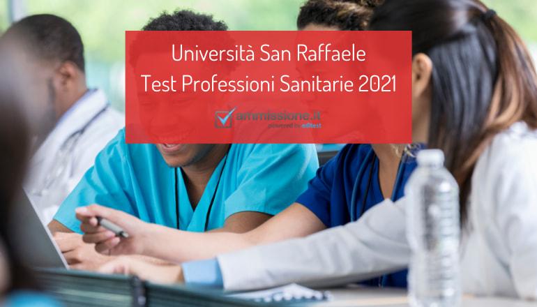test professioni sanitarie san raffaele 2021