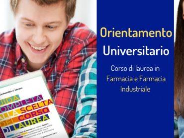 Orientamento alla scelta: corso di laurea in Farmacia e Farmacia Industriale