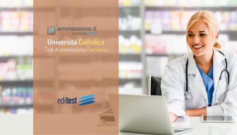 test farmacia università cattolica