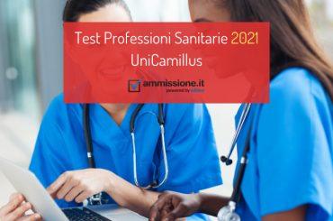 Test Professioni Sanitarie UniCamillus 2021/2022