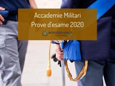 Concorsi Accademie Militari 2020: aggiornamenti e risorse di studio