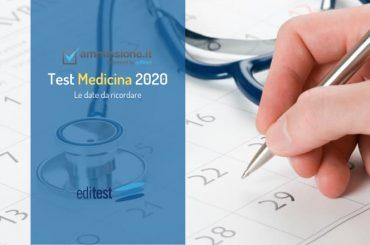 Test Medicina 2020: tutte le date da ricordare