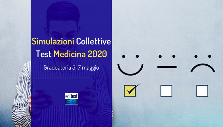 graduatoria sesta simulazione collettiva test medicina 2020