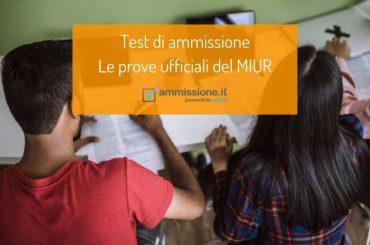 Test di ammissione all'Università: consulta le prove ufficiali del MIUR