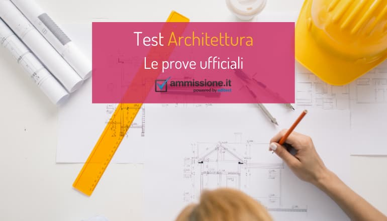 test ufficiali architettura