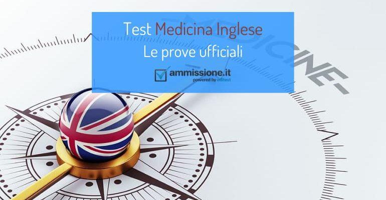 Test ufficiali Medicina Inglese: esercitati con le prove degli anni precedenti