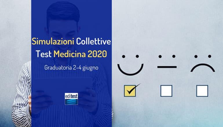 Graduatoria ottava simulazione collettiva test medicina 2020