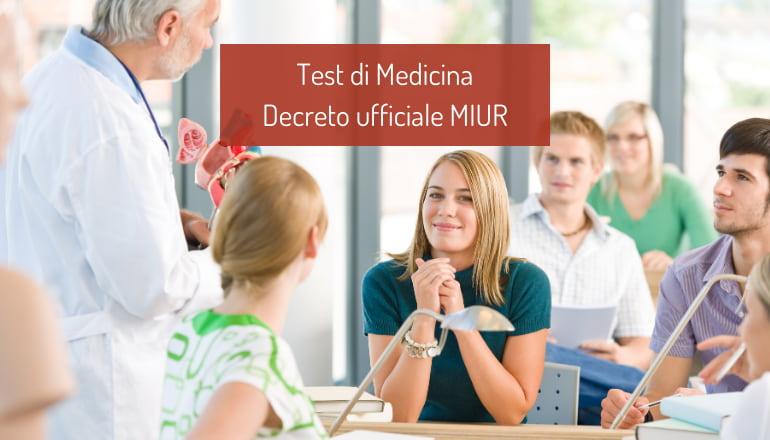 bando test medicina 2021
