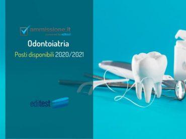 Corso di laurea in Odontoiatria: posti disponibili per il 2020