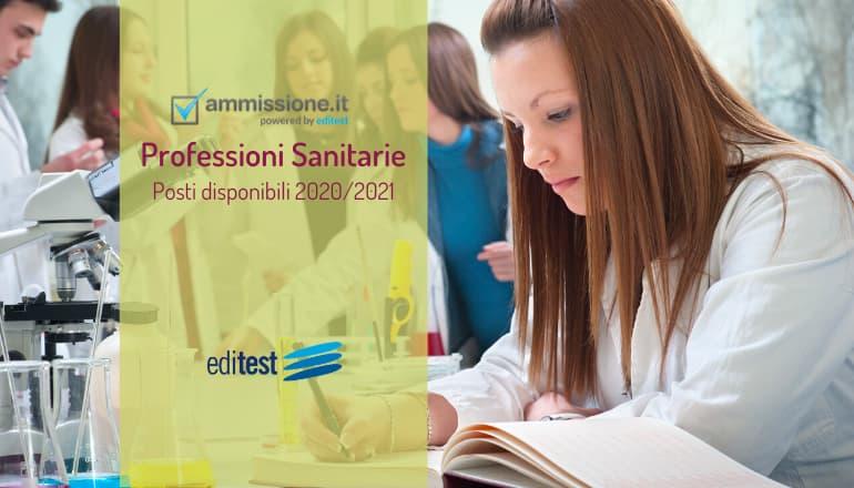 posti disponibili professioni sanitarie 2020