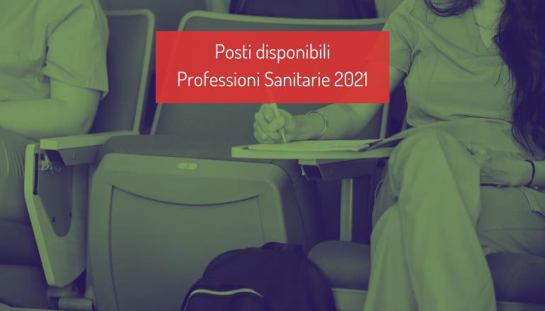 posti disponibili professioni sanitarie 2021