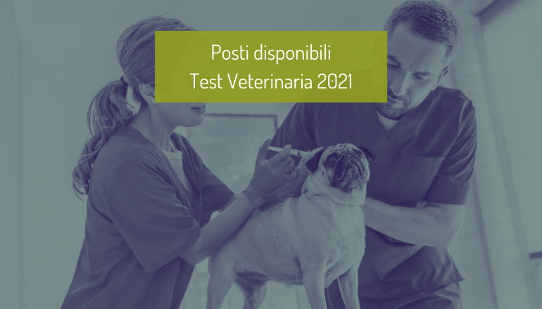 posti disponibili veterinaria 2021