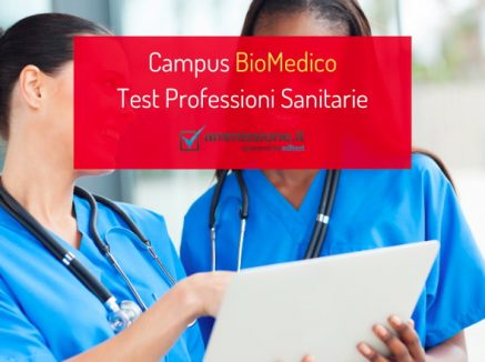 Test Professioni Sanitarie Campus BioMedico: le date 2021
