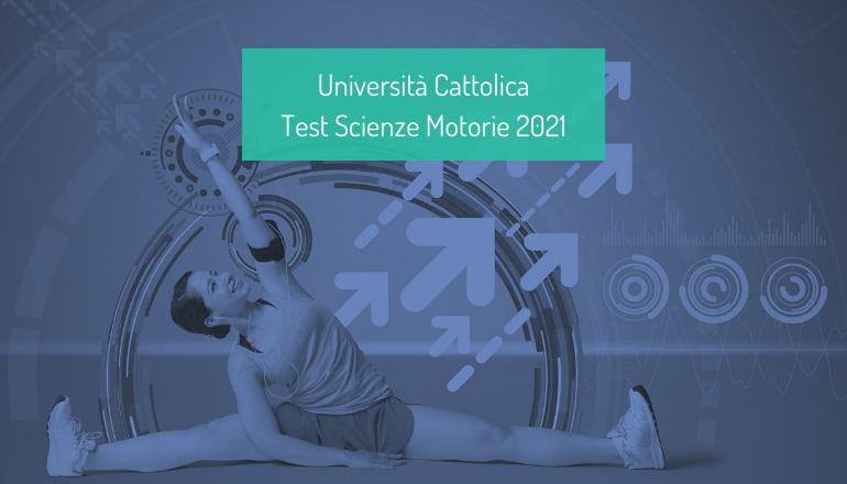 test scienze motorie cattolica 2021
