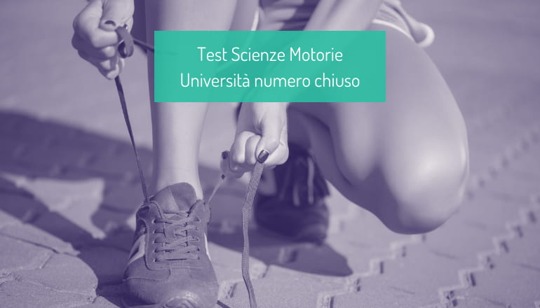 test scienze motorie università