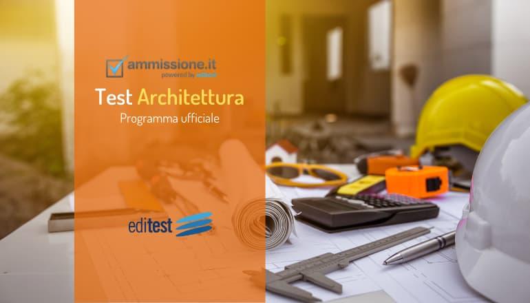 programma test architettura