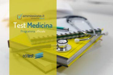 Programma Test Medicina 2020: quali sono gli argomenti da studiare?