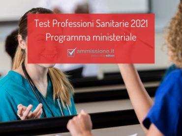 Programma test Professioni Sanitarie: gli argomenti su cui prepararsi