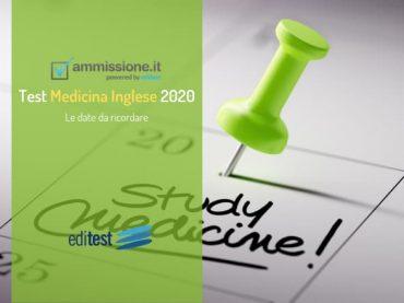 IMAT 2020: le date da ricordare