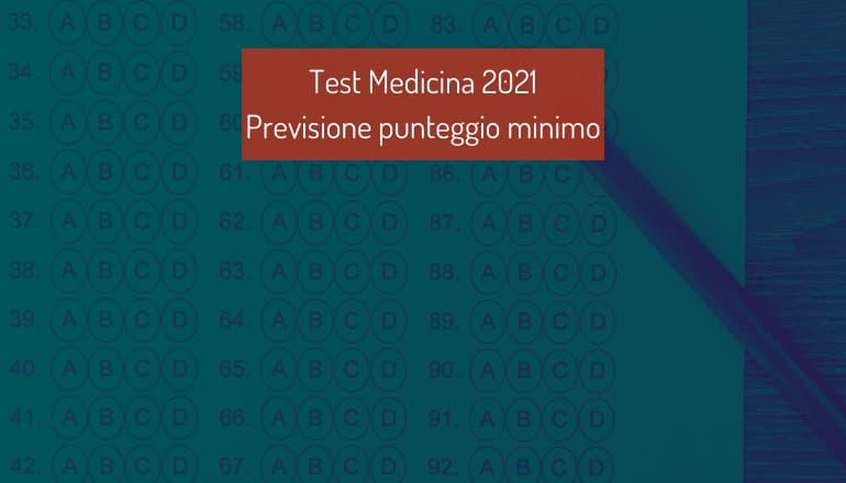 previsione punteggio minimo medicina
