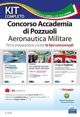 Kit Concorso Accademia Aeronautica Pozzuoli