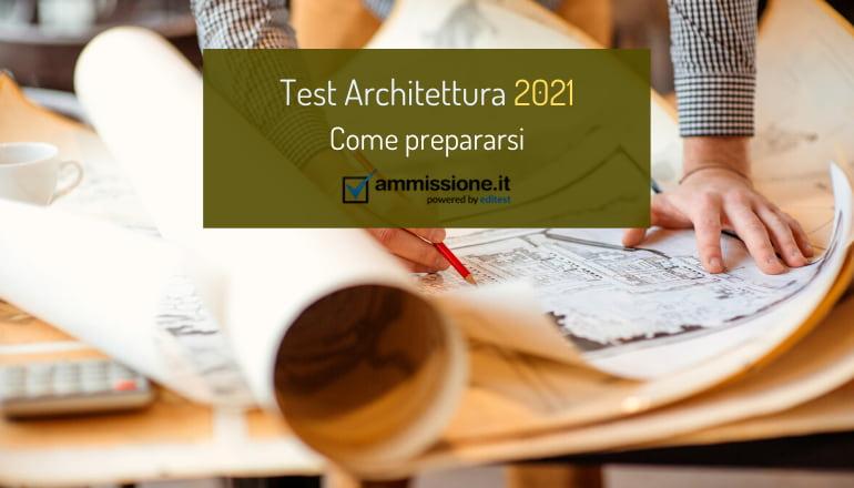 test architettura 2021