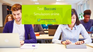 Test Bocconi 2021: simulazioni online