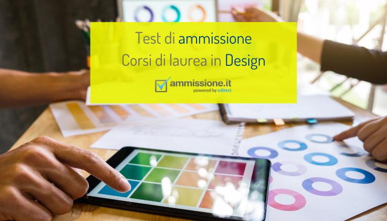 test ammissione design
