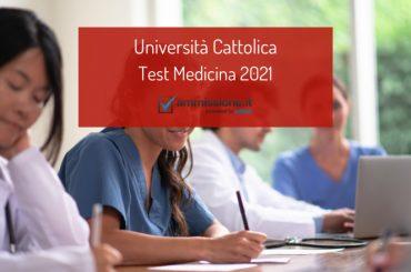 Test Medicina Cattolica 2021: bando ufficiale