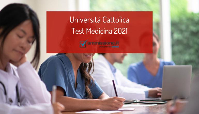 test medicina cattolica 2021