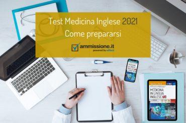 Test Medicina Inglese 2021: struttura della prova e consigli per la preparazione