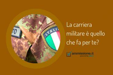 La carriera militare è quello che fa per te?