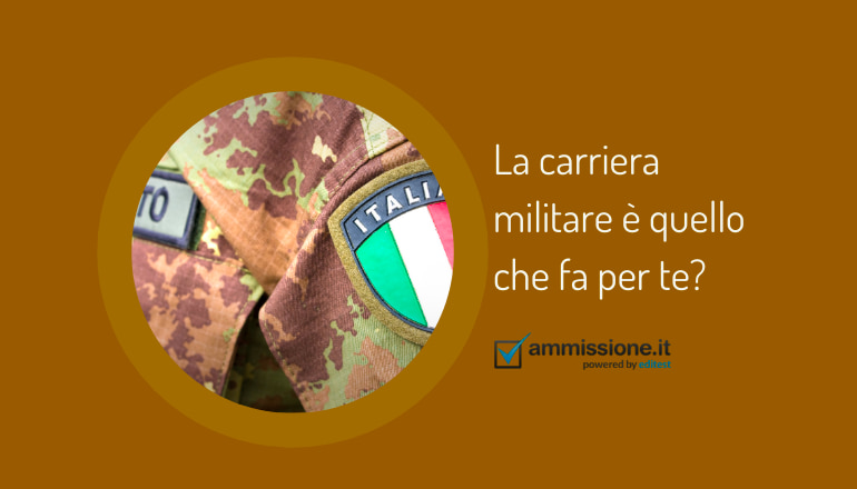 test attitudinale carriera militare orientamento
