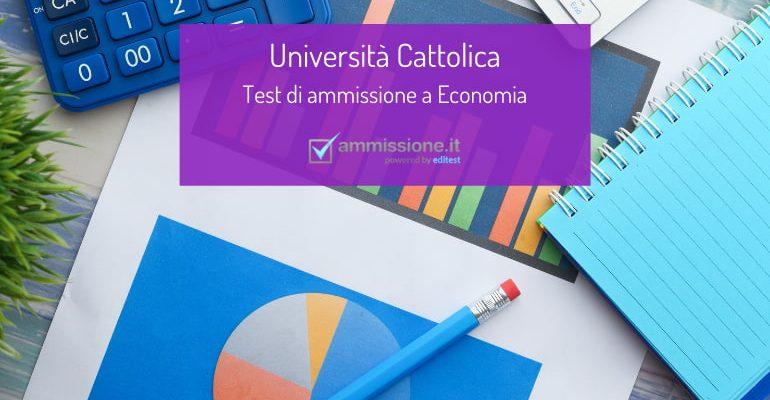 Test Economia Cattolica 2021: date e consigli per la preparazione
