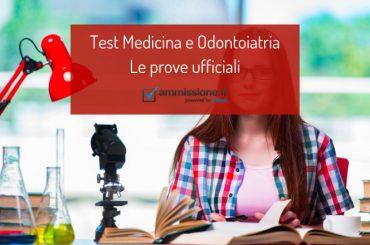Test ufficiali Medicina: esercitati con le prove degli anni precedenti