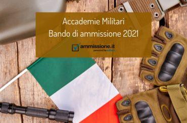 Concorsi Accademie Militari 2021/2022: pubblicato il bando ufficiale