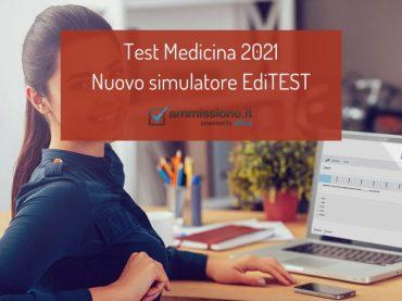 Test Medicina 2021: nuovo libro di esercizi e verifiche