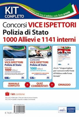 kit concorso vice ispettori polizia 2021