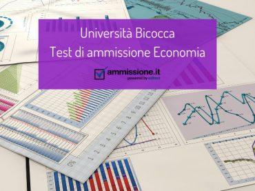 Università Bicocca: ammissione ai corsi di laurea in Economia