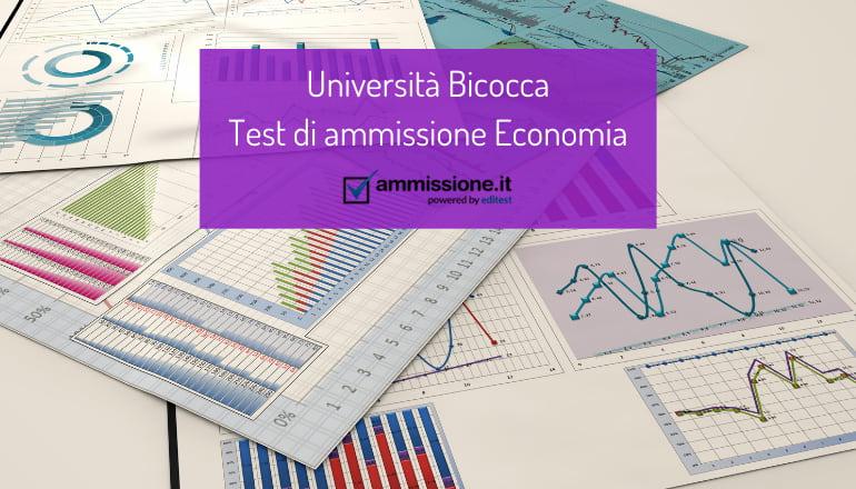 test economia bicocca